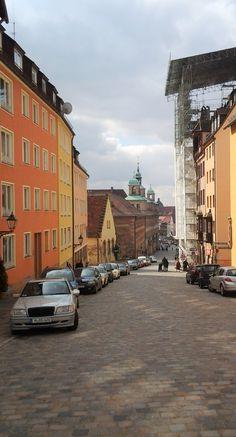 Burgstraße Nuremberg, Bavaria