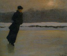 fleurdulys:  The Skater - Prince Pierre Troubetzkoy 1895