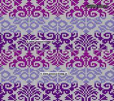 Free Knitting Pattern for Patchwork Baby Blanket Tapestry Crochet Patterns, Fair Isle Knitting Patterns, Knitting Charts, Loom Knitting, Knitting Stitches, Free Knitting, Vintage Knitting, Motif Fair Isle, Fair Isle Chart