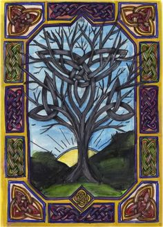 Celtic Artwork :: Celtic Tree,  Carolyn Naegeli Slead