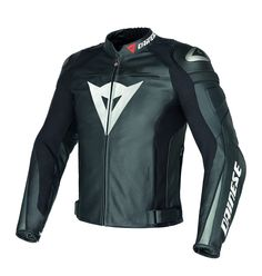 The Dainese Super Speed C2 perforated motorcycle leather jacket. Perfect for track days or the aggressive sport rider. Beautiful Dainese jacket quality and looks just as good!