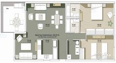 Image Result For Luxury 2 Bedroom Apartment Floor Plans