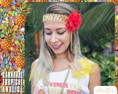 Acessórios da coleção Carnaval Tropical Analice.