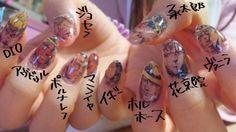 Jojo portrait nails! No idea how she did this...