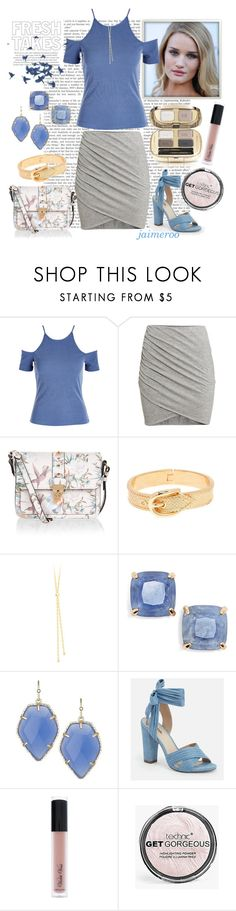 """""""Periwinkle #524"""" by jaimeroo ❤ liked on Polyvore featuring Ultimate, H&M, Accessorize, Kate Spade, Kendra Scott, JustFab, Violet Voss and Boohoo"""