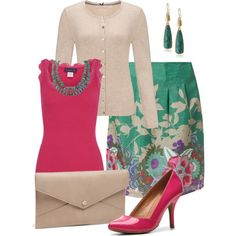 A fashion look from April 2014 featuring John Lewis, tube top and petticoat skirt. Browse and shop related looks.