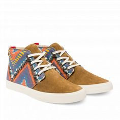 Colorful Chevrons Chukka Boot | BucketFeet