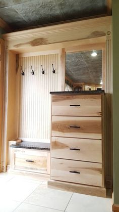 Ambrosia Maple Mudroom Locker Bench Storage Furniture Cubbies Hall Tree Coat Rack by SpeckCustomWoodwork on Etsy https://www.etsy.com/listing/287212723/ambrosia-maple-mudroom-locker-bench