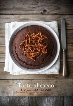- VANIGLIA - storie di cucina: La torta dei cinque minuti, con cacao e arance rosse, e un avviso ai naviganti