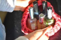 Le blog de Yeude: DIY - Coeur au crochet #1 : La petite corbeille