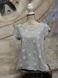 Short Sleeve Star T, Pomegranate Ladies Clothes Shop – Pomegranate Clothing Ltd