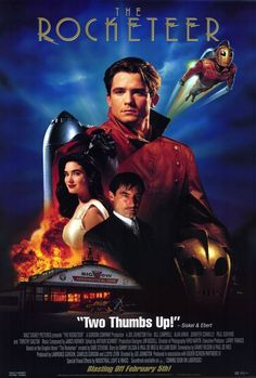 Science fiction film : The rocketeer (1991)