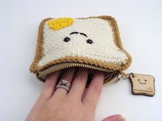 Cute! Sandwich coin purse!