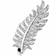 Size 7-8 Silver Tone Crystalline Feather Double Finger Ring Body Candy. $10.99. 2 Finger Ring. Save 65% Off!