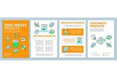Creative Brochure, Brochure Design, Brochure Template, Leaflet Printing, Waste Disposal, Magazine Template, Page Layout, Booklet, Print Design