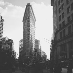 One of my favorite areas in the city, the Flatiron District.
