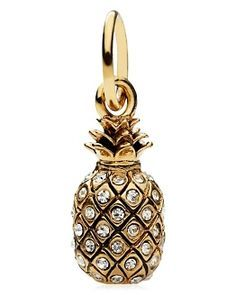 Juicy Couture pineapple charm