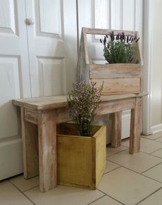 3ft. farmhouse bench by whitepinecrafters on Etsy, $87.00
