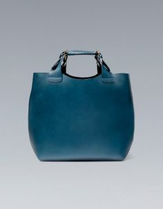 PLAITED SHOPPER - Handbags - ZARA United States