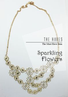 Sparkling Flowers  IDR 75.000    To order:    SMS 0856-1333-190 (Format: product name,your name, address, email, Payment BCA, Shipping method REGULAR/FAST)    Bank Account :    BCA 5725034323 a.n Yolanda     Need Help? Contact our Customer Service :  help.thehaves@gmail.com      Happy Shopping everyone !!