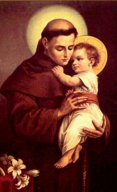 St. Anthony - saint Tony is named for.