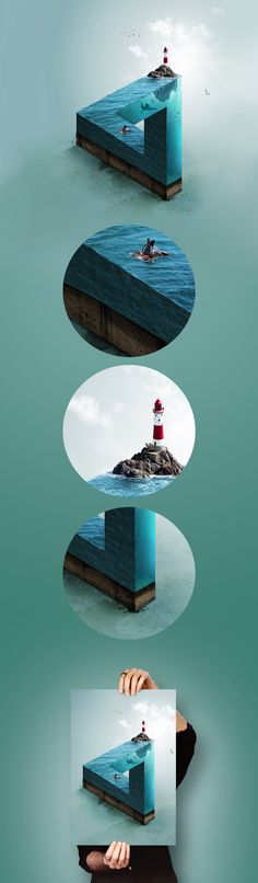Impossible Sea - Adobe Photoshop CC 2015.5 on Behance