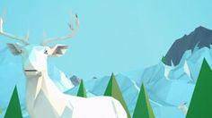 Low Poly - Arctic animation on Vimeo