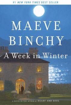 """Just finished """"A Week in Winter"""".last book from Maeve Binchy. Seemed like it would be a good series, but unfortunately no more treasures from Maeve. Worth reading plus Maeve Binchy always makes me think of my Irish friend. Great Books, New Books, Books To Read, Reading Lists, Book Lists, Reading Books, Maeve Binchy, West Coast Of Ireland, Living At Home"""