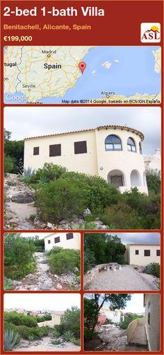 2-bed 1-bath Villa in Benitachell, Alicante, Spain ►€199,000 #PropertyForSaleInSpain