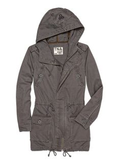 TNA REDINGTON JACKET | Aritzia (medium-weight Fall jacket, long, appropriate for work.... grey or olive?) Gray Jacket, Sweater Jacket, Cool Outfits, Fashion Outfits, Fall Jackets, Casual Chic, Autumn Winter Fashion, Hoodies, My Style