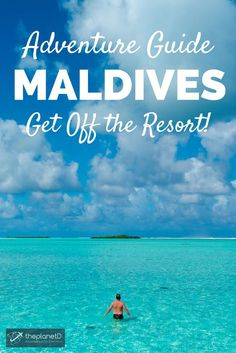 10 of the best things to do in the Maldives. Perfect for relaxing in a private over water bungalow with a cocktail in hand, the Maldives also offer plenty of adventurous activities for those looking to get off the resort and into the water!   Blog by The Planet D: Canada's Adventure Travel Couple
