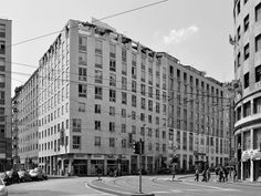 Building for dwellings and offices in Milan (1956) - Asnago & Vender