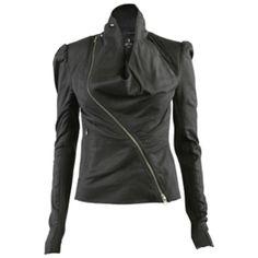 0bc566835d86 All Saints Jackets   Coats - HPAll Saints Dresden Leather Jacket Jassen  Voor Vrouwen, Cybergothic
