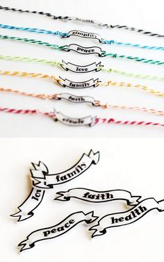 DIY Shrink Plastic Friendship Bracelet Tutorial and Pattern from Crafts Unleashed. This is a...