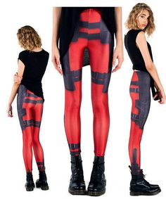 Deadpool Leggings for the Geek Girls Who Love Deadpool