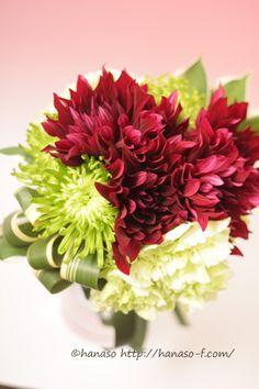 dahila bouquet ダリアブーケ