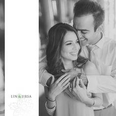 Santa Monica Engagement | Rahul and Divya like this close up natural look
