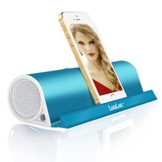 Enter to win a LuguLake Portable Bluetooth Speaker, with Stand function Wireless Stereo Speaker Built-in Aux Port (Blue). Electronic Gadgets For Men, Mens Gadgets, Electronics Gadgets, Wireless Stereo Speakers, Built In Speakers, Portable Speakers, Speaker Stands, Best Iphone, Iphone 6