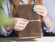 This large chunky leather notebook is perfect for people who love to write. The rich brown leather is uniquely distressed which gives it a lovely antique look and feel. A leather journal to covert and inspire you to write to your loved ones. Leather Notebook, Leather Journal, Gifts For Women, Gifts For Her, Unique Gifts, Best Gifts, Journal Notebook, Journals, Vintage Valentines