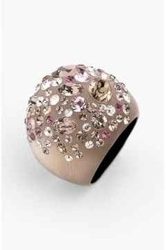 Alexis Bittar 'Sepia Dust' Dome Ring (Nordstrom Exclusive