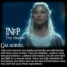 The Hobbit: Battle of the 16 Personalities - Galadriel [INFP]