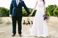 Farm Wedding, ducks, Solitaire Homestead Venue