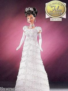 Annie's The Golden Age of Film Collection  My Fair Lady  Fashion Doll Crochet Pattern