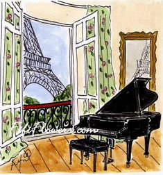 Music Room in Paris Live a luscious life with LUSCIOUS: www.myLusciousLife.com