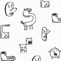 36days of type here is my S. #doodles #36daysoftype #singapore #design #sketch #art #pen #letters #moji #type #cartoon #дизайн #буквы #alphabet #арт #скетч #デザイン#アート#グラフィック#文字#디자인 #일러스트 #아트 #illustration #иллюстрация #イラストレーション #horses by oritakemura