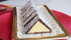 Üçgen kek tarifi foto