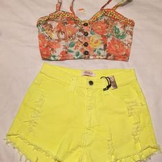 Bundle deal For shelbynic crop top and shorts Other
