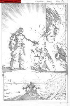 Kwan Chang :: For Sale Artwork :: Inhuman # 1 by artist Joe Madureira