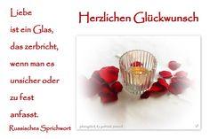 """Karte zur Hochzeit """"Glas"""" von PHOTOGLÜCK auf DaWanda.com"""