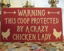 Chicken Sign,Chicken Wall Decor,Chicken Coop Sign,Kitchen Decor,Kitchen Wall…